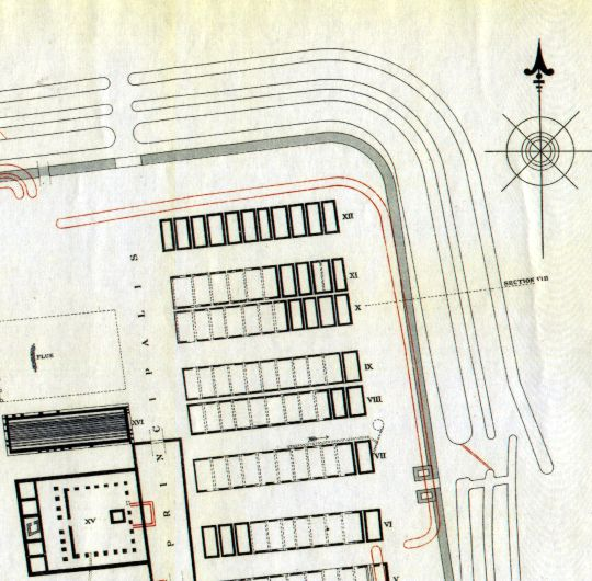 Plan 4 north-east corner